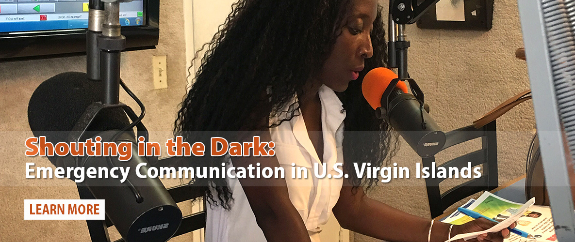 Shouting in the Dark: Emergency Communication in USVI After Irma and Maria