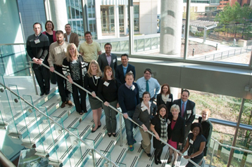 March 12, 2013 - The thought leaders from the seven promising example communities visited the CDC in Atlanta