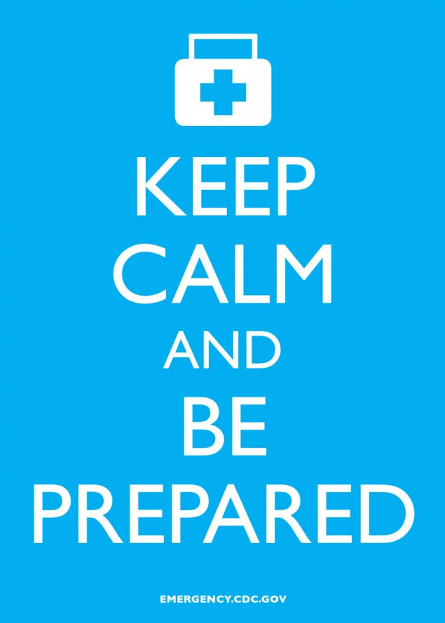 Infographic: Keep Calm and Be Prepared