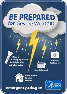 Be Prepared for Severe Weather