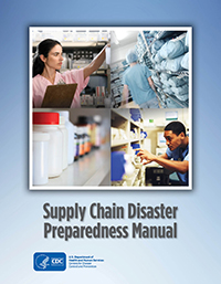 Supply Chain Disaster Preparedness Manual Cover