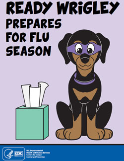 Ready Wrigley Prepares for the Flu