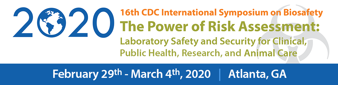 16th CDC International Symposium on Biosafety