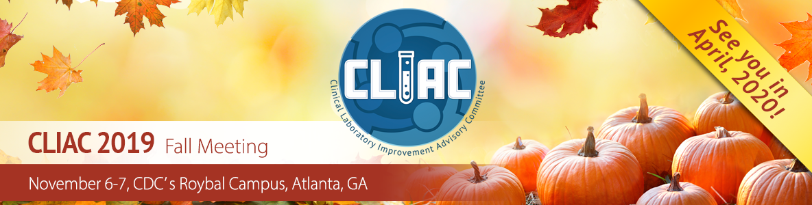 See You at the CLIAC Meeting in April 2020