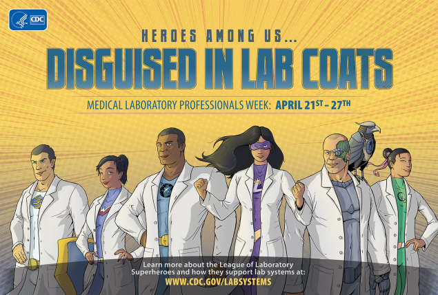 The League Laboratory Superheroes