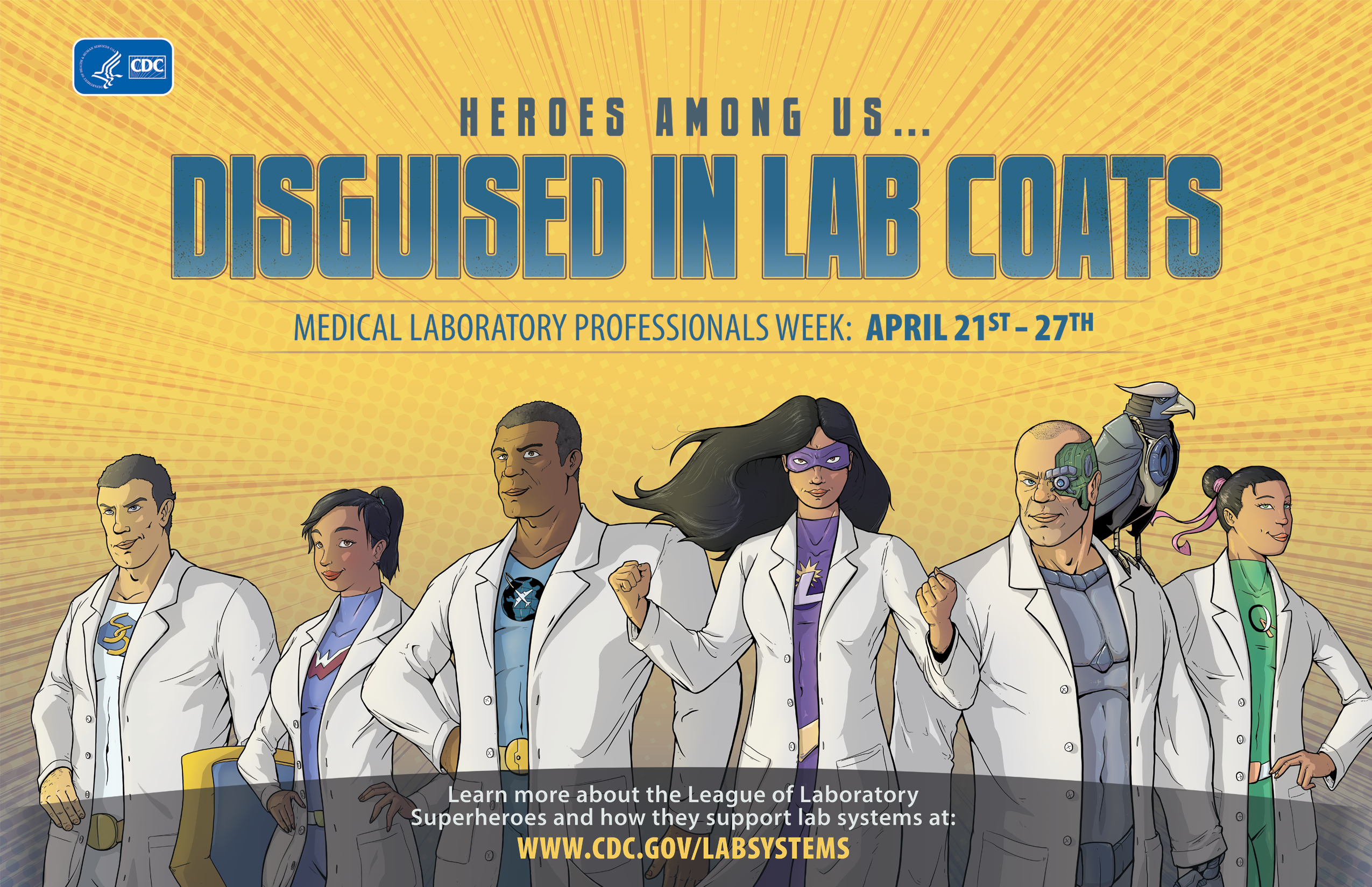 Medical Laboratory Professionals Week Poster