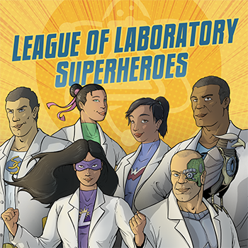 Illustration of the League of Laboratory Superheroes