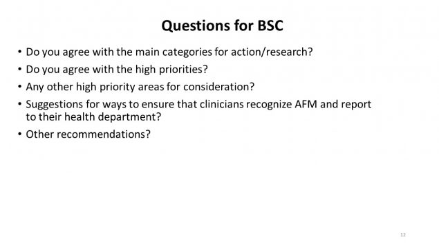 Questions for BSC