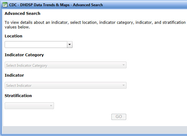 Dhdsp data trends and maps using this site dhdsp cdc for Advanced home search