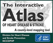 Interactive Atlas of Heart Disease and Stroke Button