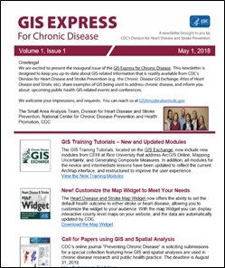 GIS Express Volume 1, Issue 1