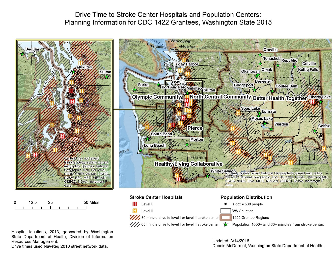 GIS Exchange|Map Details - Access to Stroke Center Hospitals in ...