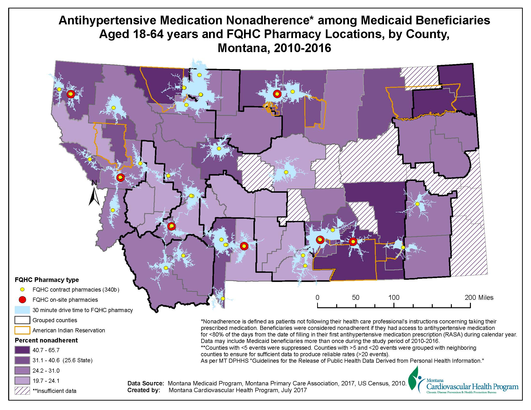 GIS Exchange|Map Details - Antihypertensive nonadherence and drive on