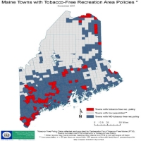 Maine Towns with Tobacco-Free Recreation Areas