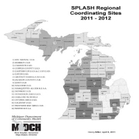 Shaping Positive Lifestyles and Attitudes through School Health (SPLASH) Regional Coordinating Sites 2011 - 2012