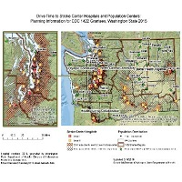 Access to Stroke Center Hospitals in Washington State