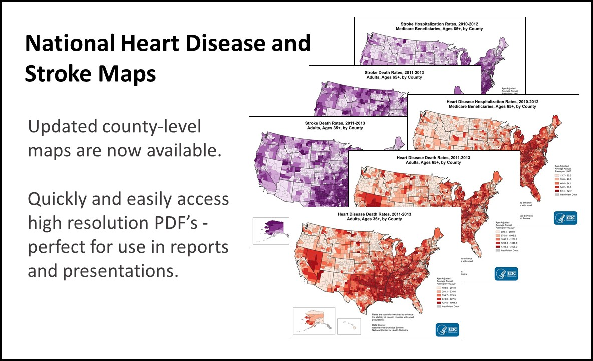 National Heart Disease and Stroke Maps