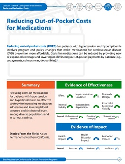 Reducing Out-of-Pocket Costs for Medications cover
