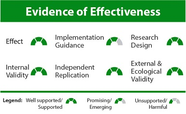 Self-management Evidence of Effectiveness