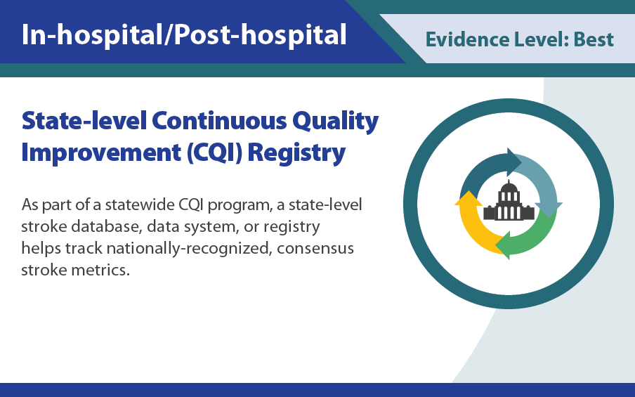 State-level continuous quality improvement (CQI) registry.
