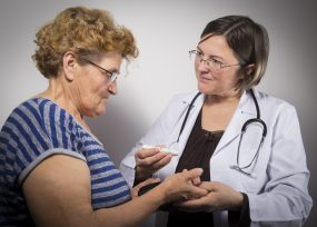 Doctor gives advice on managing diabetes