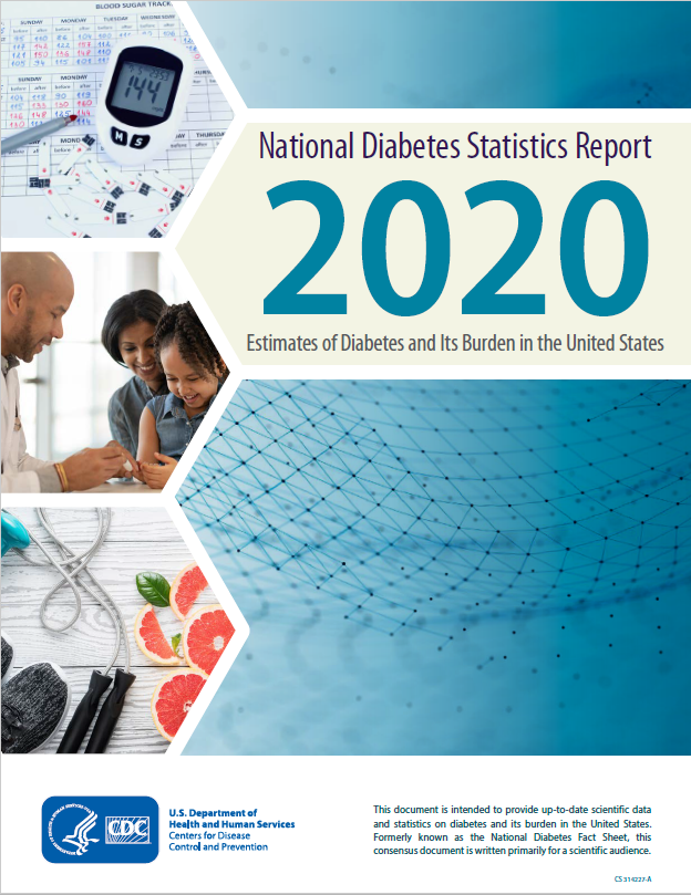 National Diabetes Staistics Report 2020. Estimates of diabetes and its burden in the United States.