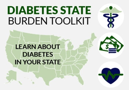 Diabetes State Burden Toolkit, learn about diabetes in your state