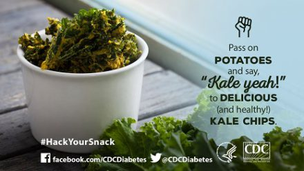 Pass on potatoes and say Kale Yeah to delicious and healthy kale chips
