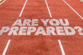 Are You Prepared? written on a track