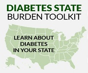 Diabetes State Burden Toolkit. Learn about diabetes in your state.