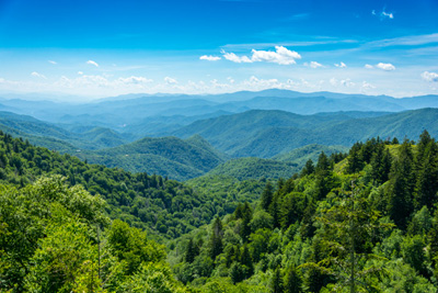 Image of the Appalachian Mountains.