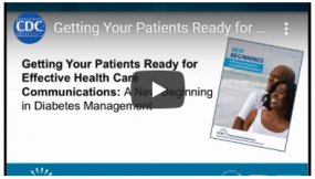 video thumbnail for get patients ready for effective communication