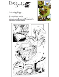 Image of Eagle Books Coloring Guide