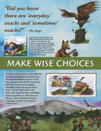 Image of make wise choices backdrop panel