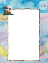 image of watercolor stationery