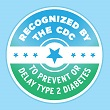 A badge for CDC-recognized lifestyle change programs