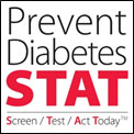 Logo of the Prevent Diabetes STAT campaign