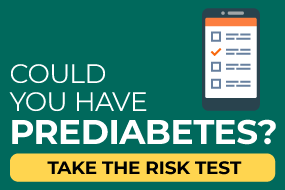 Could you have prediabetes? Take the risk test.