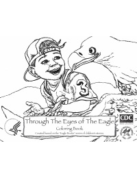 Through the Eyes of the Eagle Coloring Book