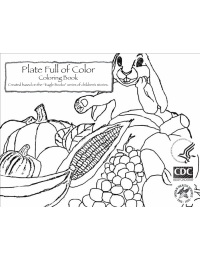 Plate Full of Color Coloring Book
