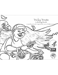 Tricky Treats Coloring Book