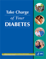"Image of the cover of the publication, ""Take Charge of Your Diabetes 2003."""
