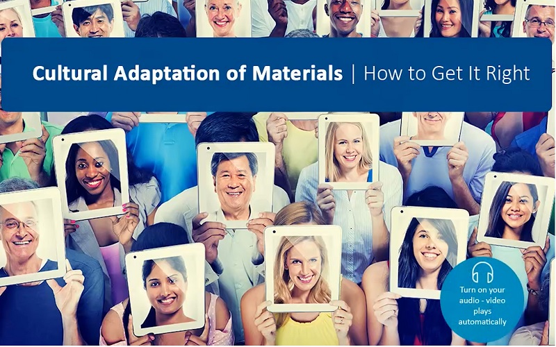 cultural adaptation of materials