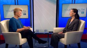 Joan Lunden interviews Dr Albright