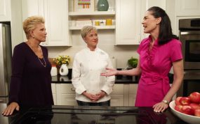 Joan Lunden, Jennifer Stack, and Ann Albright