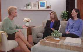 Joan Lunden, Maria Rodriguez, and Ann Albright