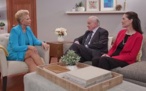 Joan Lunden, Valentin Fuster, and Ann Albright