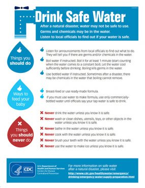 Drink Safe Water Fact Sheet
