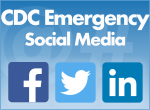cdc emergency social media