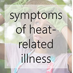 symptoms of heat elated illness